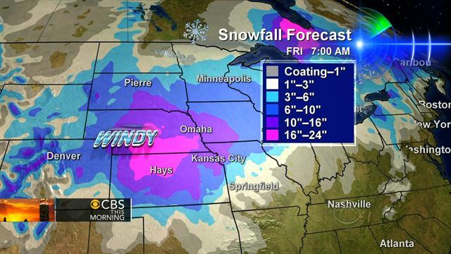 Winter storm: Where is it heading?