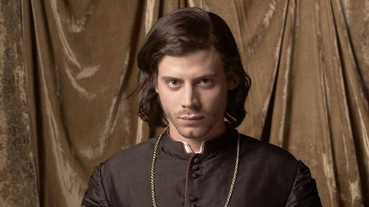 "Francois Arnaud as Cesare Borgia in ""The Borgias."""