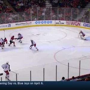 Sergei Bobrovsky Save on Jonathan Toews (01:11/2nd)