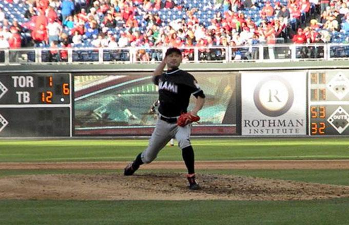 Ichiro Pitches For First Time in 15-Year Future Hall of Fame Career