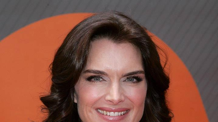 Brooke Shields at the NBC 2007 Upfronts.