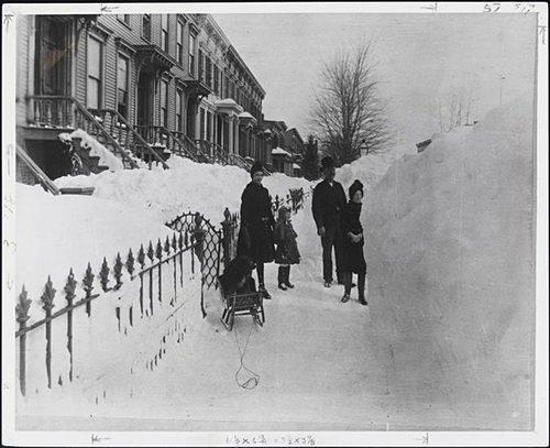 CurbedWire: Looking Back at the Blizzard of 1888; MCNY Landmarks Show