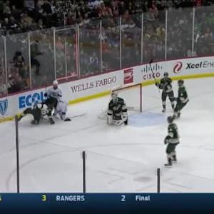 Dwight King Goal on Devan Dubnyk (03:20/2nd)
