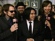 Silversun Pickups at the 2010 Grammy Awards.