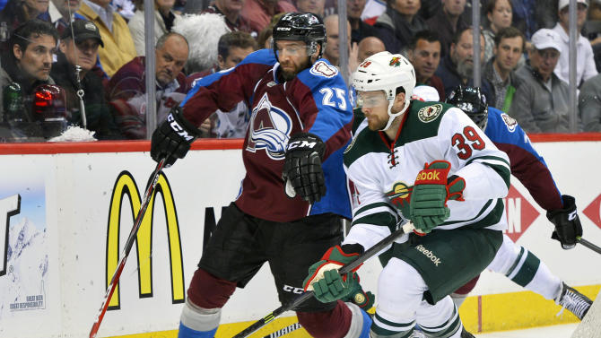 Avs' turnaround season ends with 1st-round loss