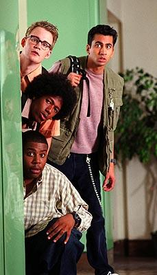 Kevin Christy , Kal Penn , Nick Cannon and Kenan Thompson in Warner Bros. Love Don't Cost a Thing