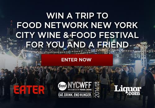 Eater Giveaway: Win a Trip to NYCWFF for You and a Friend