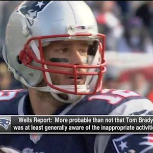NFL Media's Willie McGinest reacts to New England Patriots quarterback Tom Brady's involvement in the Ted Wells report