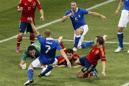 Iniesta best Euro 2012 player …