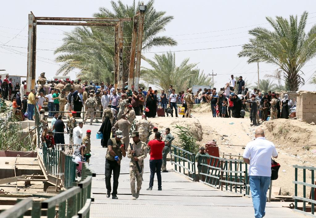 Over 55,000 have fled IS-captured Ramadi since mid-May