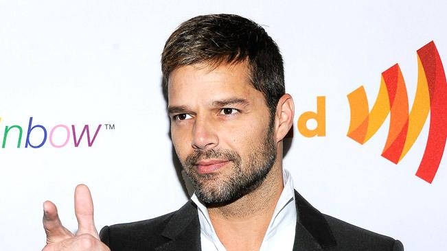 Ricky Martin ndannualGLAAD Media Awards Presented ByROKK