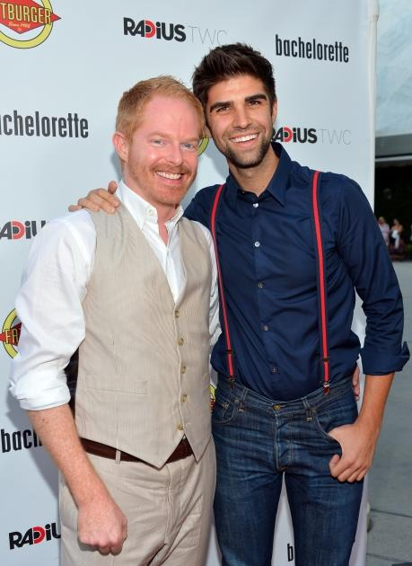 'Modern Family's Jesse Tyler Ferguson became engaged with his boyfriend of two years Justin Mikita in July 2012 -- Getty Images
