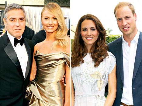 George Clooney and Stacy Keibler Break Up, Kate Middleton and Prince William's Baby Gets Official Title: Top 5 Stories