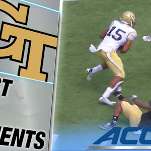 Smelter Uses Speed & Power On Stunning 71-Yard Georgia Tech TD | ACC Must See Moment