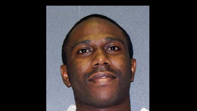 This photo provided by the Texas Department of Criminal Justice shows  Beunka Adams. The 5th U.S. Circuit Court of Appeals on Wednesday lifted a reprieve given to Adams, a death row inmate facing execution Thursday evening by lethal injection for a fatal shooting during an East Texas convenience store robbery 10 years ago. (AP Photo/Texas Department of Criminal Justice)