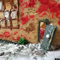 Artfully Dilapidated Gingerbread Houses Represent Detroit's Fight Against Neighborhood Blight