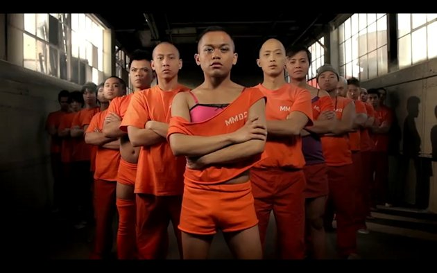 Screen grab from Prison Dancer: The Interactive WebMusical, Episode 1: Point of View Youtube video