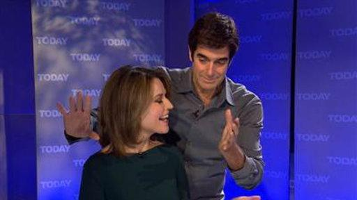 David Copperfield Makes Savannah's Ring Disappear
