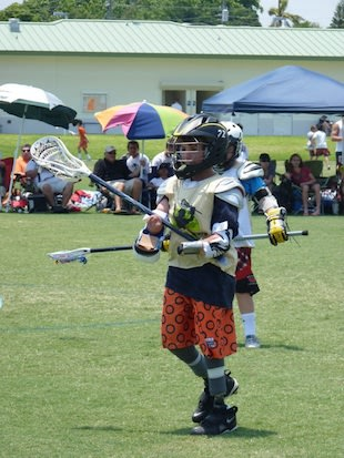 Quadruple amputee lacrosse player Mikey Stolzenberg — Facebook