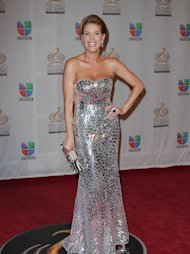 MIAMI, FL - FEBRUARY 16:  Alicia Machado arrives at the Premio Lo Nuestro a La Musica Latina at American Airlines Arena on February 16, 2012 in Miami, Florida.  (Photo by John Parra/Getty Images)