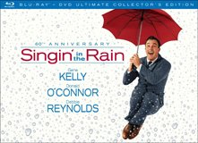 Singin' in the Rain 60th Anniversary Ultimate Collector's Edition Box Art