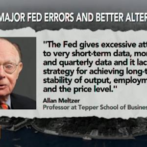 Federal Reserve Strategy Too Focused on Short-Term Data