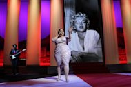 US singer Beth Ditto of the band Gossip performs during the opening ceremony of the 65th Cannes film festival