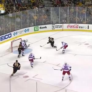 Henrik Lundqvist Save on Gregory Campbell (03:20/2nd)