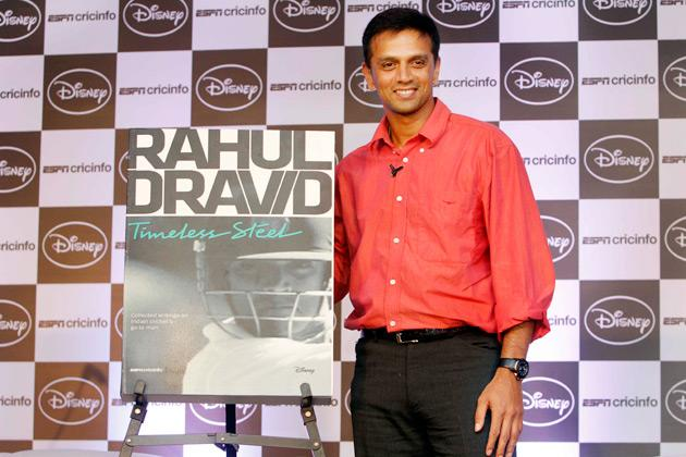 Dravid immortalised in words