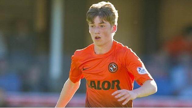 Football - Two-goal Gauld turns heads