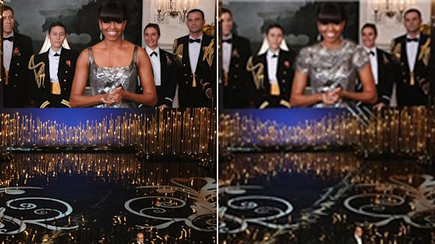 Michelle Obama's Image Altered by Iranian News Agency (ABC News)