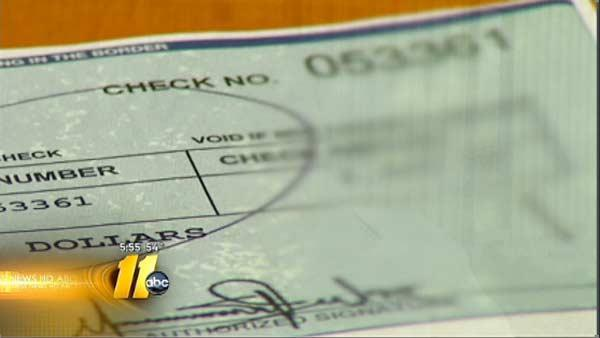 Consumer Alert: Check fraud scheme