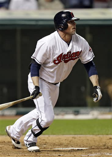 Cabrera homers twice as Indians down A's 7-3