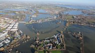 The Environment Agency has vowed to do what it can to battle floods.