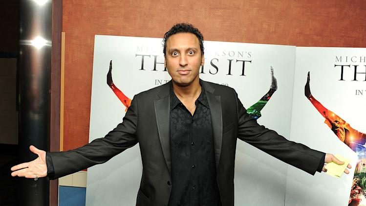 Michael Jackson's This is it New York Premiere 2009 Aasif Mandvi