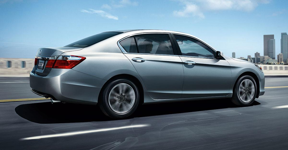 You could get a great deal on a new Honda Accord