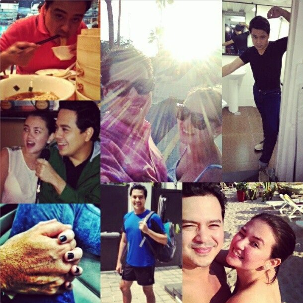 Angelica Panganiban and John Lloyd Cruz (Screen grab from Angelica