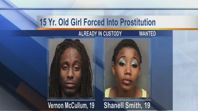 15 year old forced into prostitution