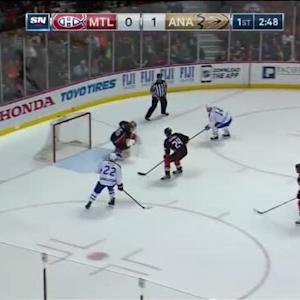 John Gibson Save on Tomas Plekanec (17:13/1st)