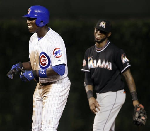Cubs take rain-shortened 5-1 win over Marlins