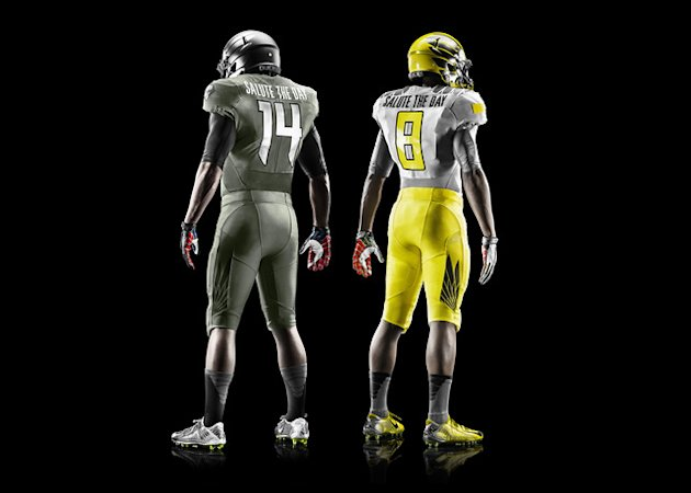 Oregon Spring Game Uniforms