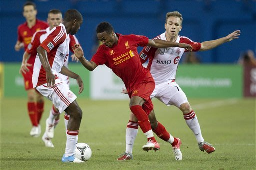 Liverpool draw Toronto FC 1-1 in friendly