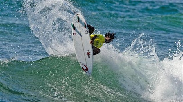 Indonesian surfer Oney Anwar (ASP)