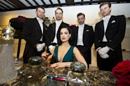 That very alluring raven-haired beauty and world renowned burlesque dancer Dita Von Teese has launched her own perfume this week