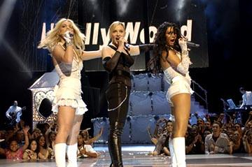 Britney Spears, Madonna, Christina Aguilera MTV Video Music Awards - 8/28/2003