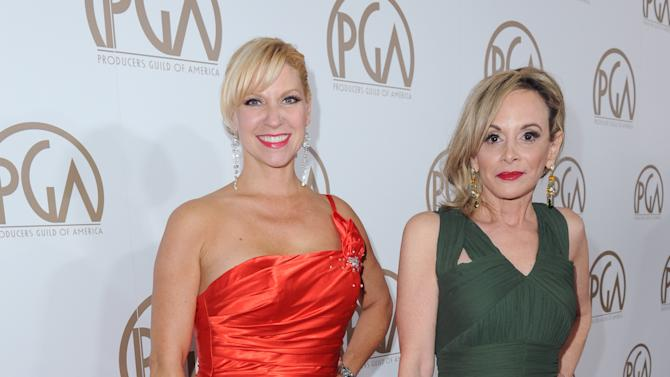 Rachel Klein, left, and Wendy Neuss arrive at the 24th Annual Producers Guild (PGA) Awards at the Beverly Hilton Hotel on Saturday Jan. 26, 2013, in Beverly Hills, Calif. (Photo by Jordan Strauss/Invision for The Producers Guild/AP Images)