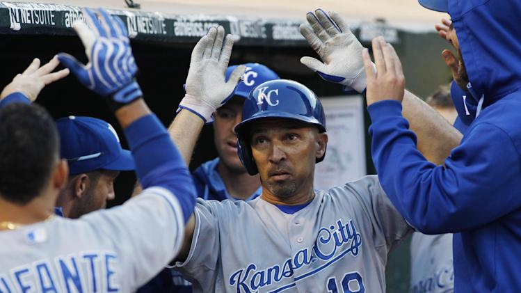 Raul Ibanez homers to carry Royals past A's 1-0