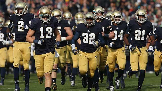 Final push for Notre Dame