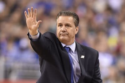 John Calipari says Kentucky's goal was to get 8 players drafted, not win NCAA title