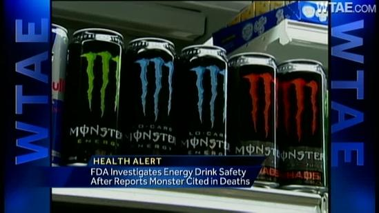 Report: Monster Energy Drinks linked to death